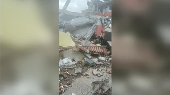 indonesia quake destruction
