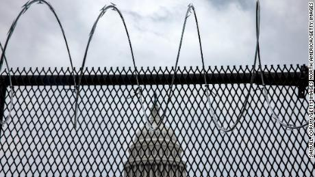 Capitol Hill security reverses plan to reinstall outer perimeter fencing at Capitol