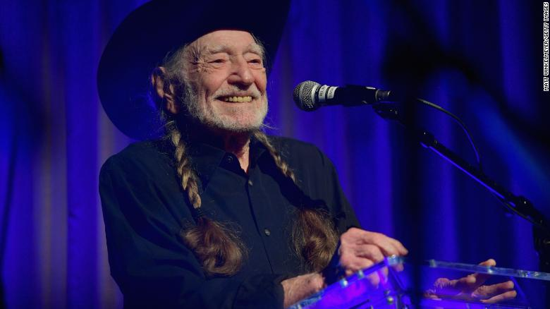 Country music legend Willie Nelson gets his Covid-19 vaccination
