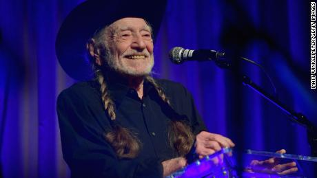 Willie Nelson got his Covid-19 vaccination at a drive-through facility in Texas this week.