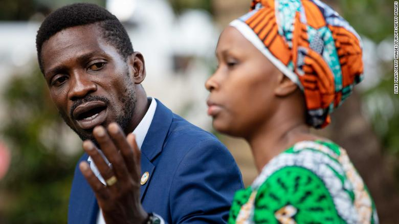 Uganda security forces withdraw from Bobi Wine's home ending 11 days of house arrest