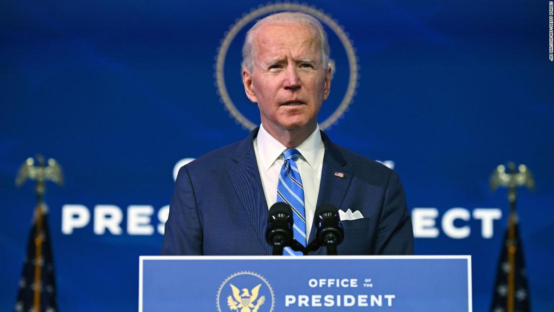 Biden to sign executive orders rejoining Paris climate accord and rescinding travel ban on first day - CNN