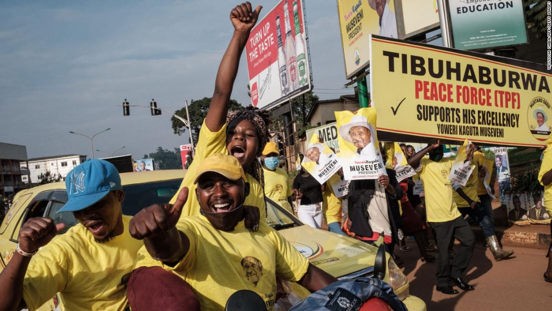 Ugandan President Museveni wins re-election in vote his rival says was rigged