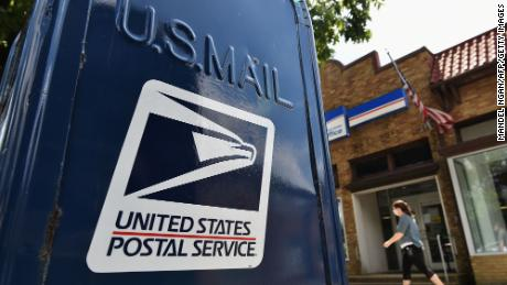 The US Postal Service is removing some mailboxes and suspending pick-up at others in multiple states and Washington, DC, as a security measure ahead of Inauguration Day.