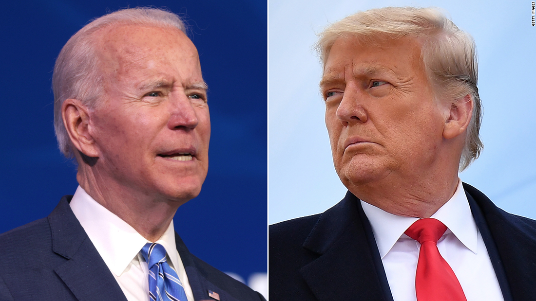 Biden's term nears as Trump's dissolves in disgrace and disarray