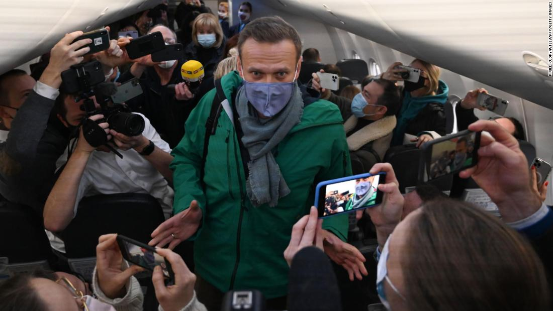 Kremlin critic Alexey Navalny to be held in custody for 30 days following his return to Russia – CNN