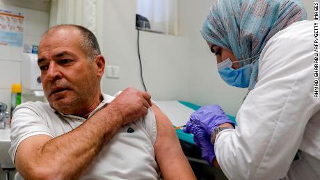 Wskaźniki szczepień pokazują duże różnice między Izraelczykami i Palestyńczykami - pośród kontrowersji dotyczących odpowiedzialności