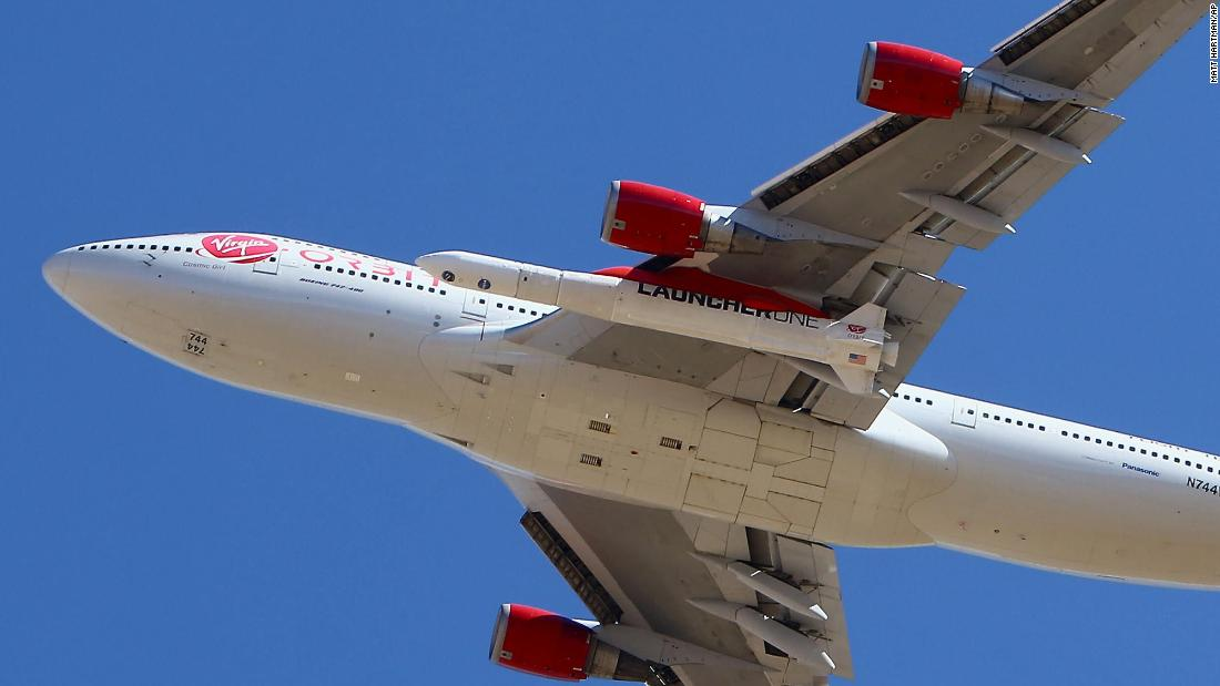 Virgin Orbit launches rocket off a 747 aircraft, puts nine satellites in space