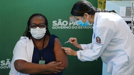 Brazil authorizes two Covid-19 vaccines for emergency use