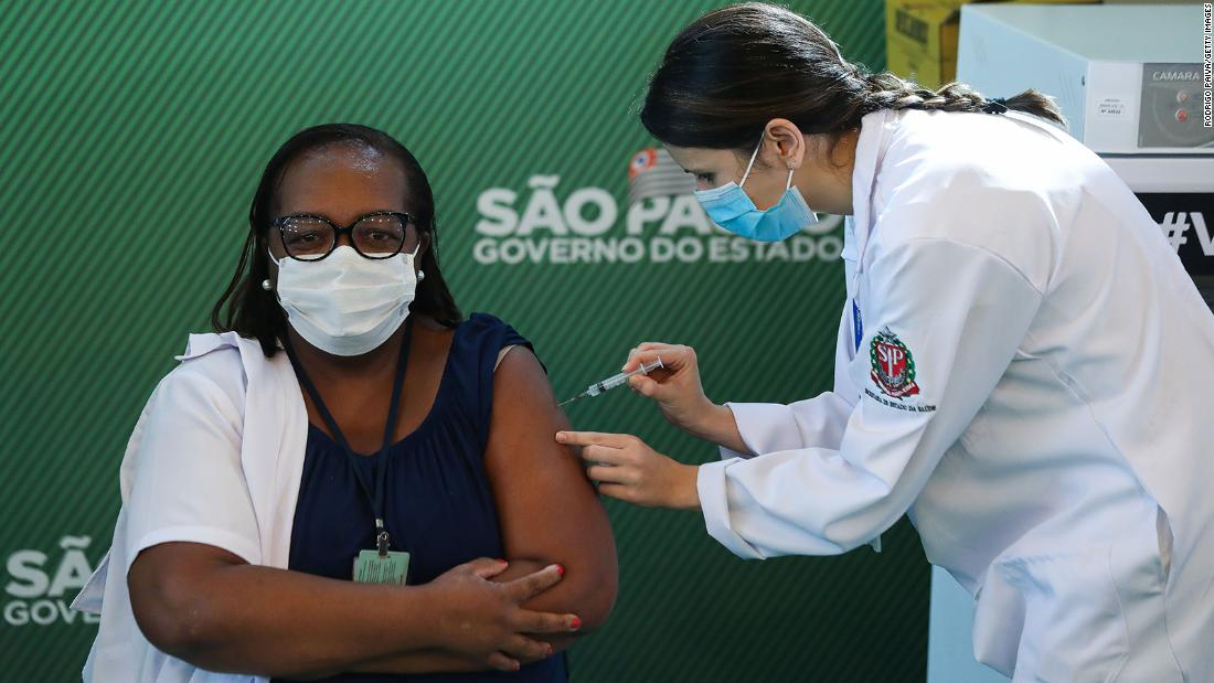 Brazil issues emergency authorization for two vaccines