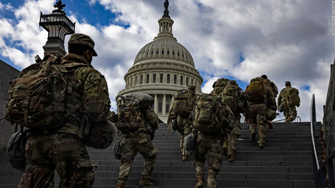 Military leaders are prepared to defend Pentagon response to Capitol riot at hearing