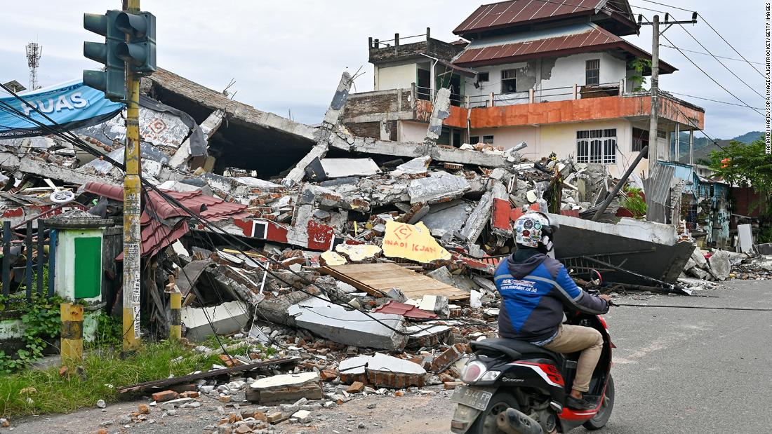 Series of disasters unfolding across Indonesia