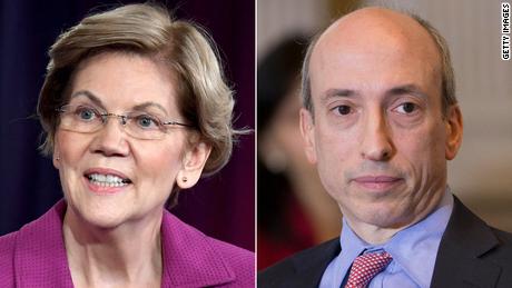Wall Street has a new top cop. And Elizabeth Warren is a big fan of him
