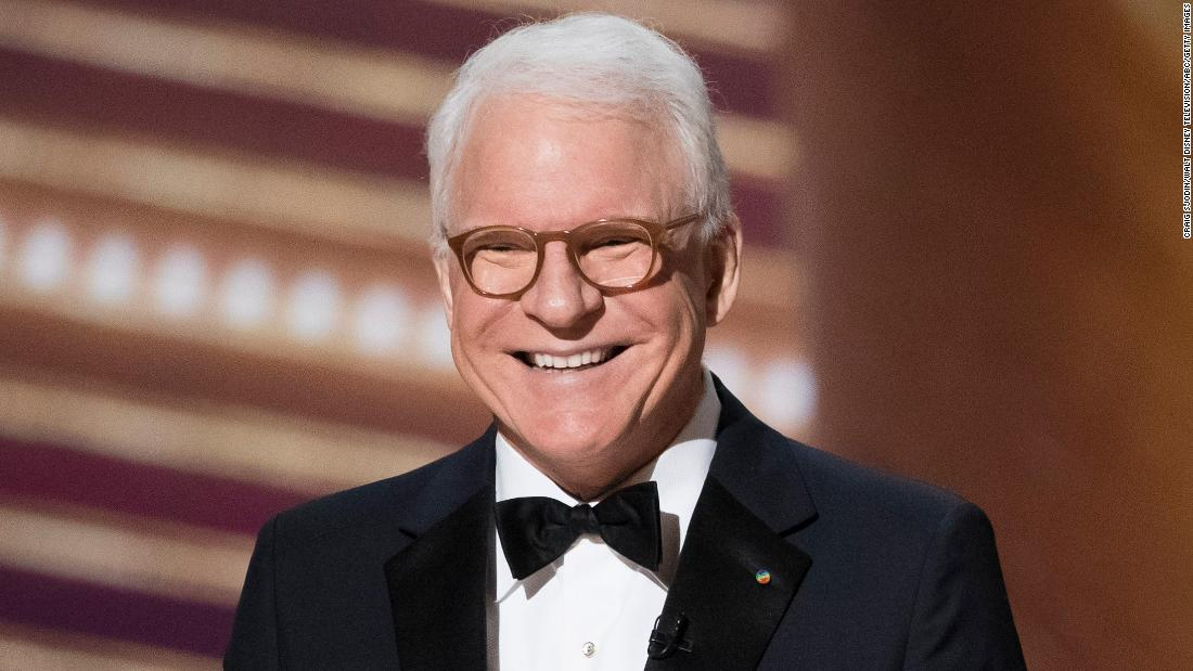 Steve Martin has 'Good news/Bad news' about getting vaccinated - CNN
