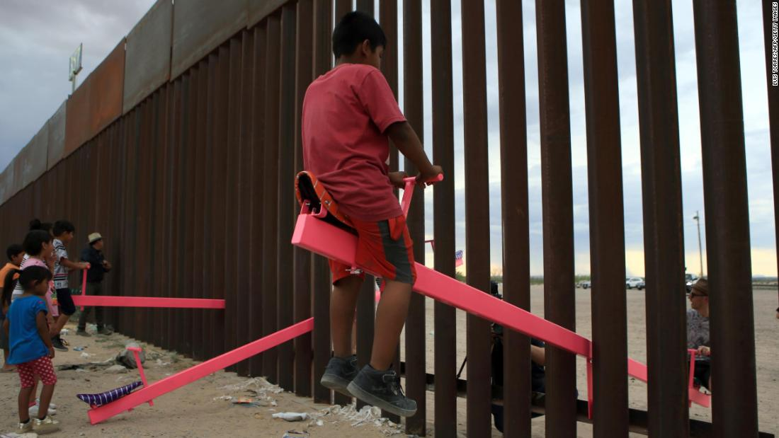 A seesaw for kids on the US-Mexico Border wins Beazley Design of the Year