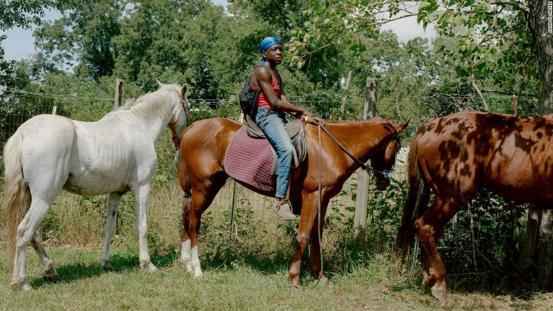 Striking photos of Black cowboys and cowgirls in US cities