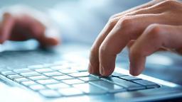 210118140050 laptop keyboard typing stock hp video