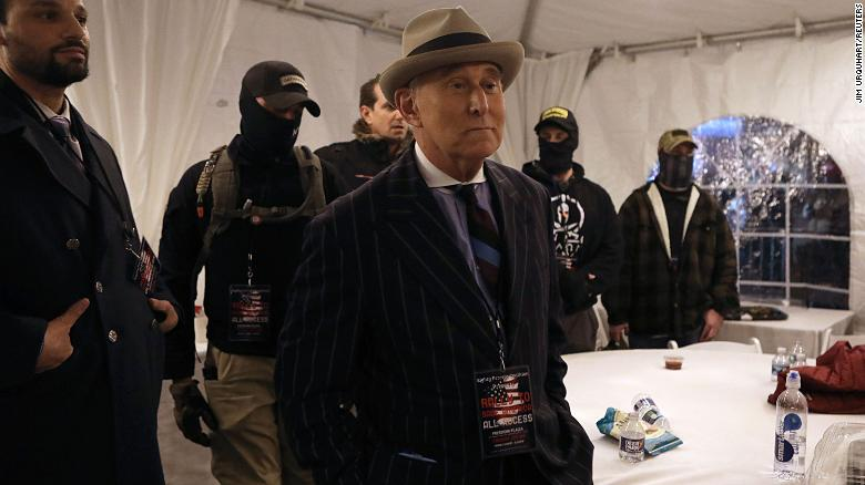 Feds investigated Roger Stone ties to Proud Boys as part of possible threat to judge