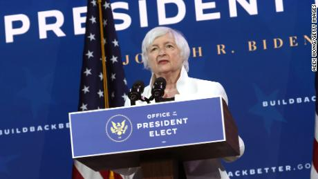 Yellen to urge lawmakers to 'act big' on relief spending