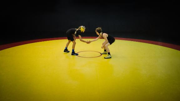 """Rachel, 11: """"In wrestling, girls have an advantage. The guys think less of you until you are face-to-face with them!"""""""