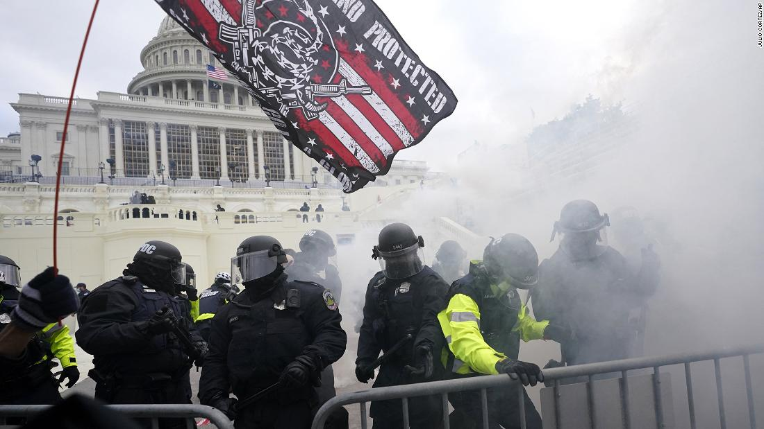 38 Capitol Police officers test positive for Covid-19 after riot