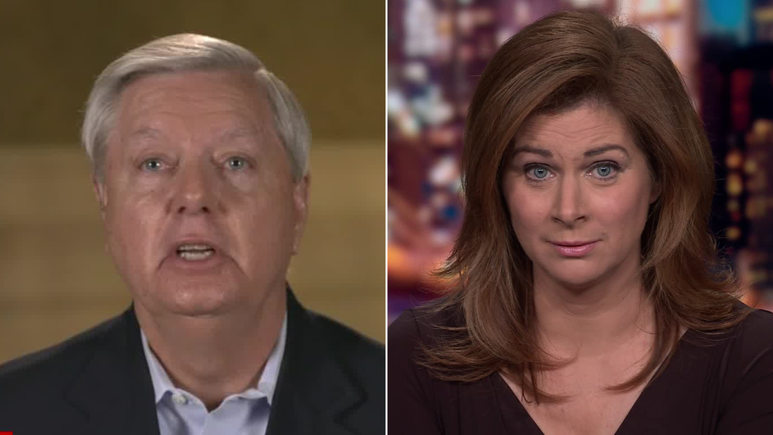 Sen. Graham/Erin Burnett split
