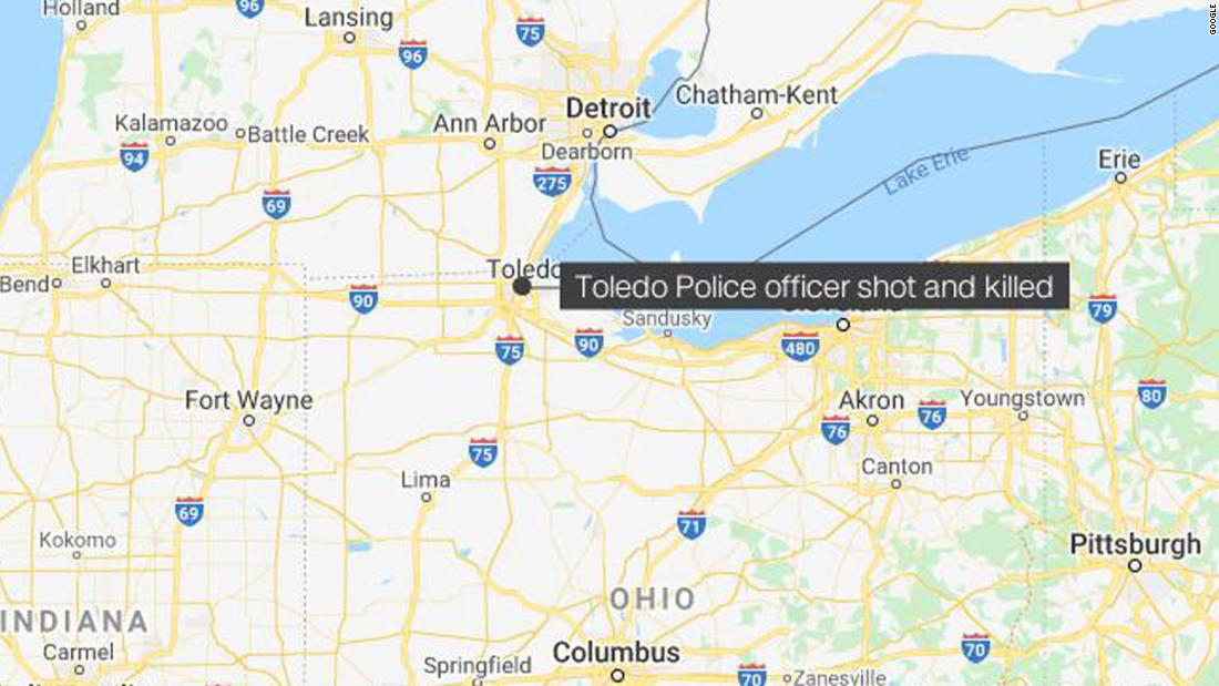 Ohio police chief mourns an 'wonderful police officer' who was killed throughout standoff