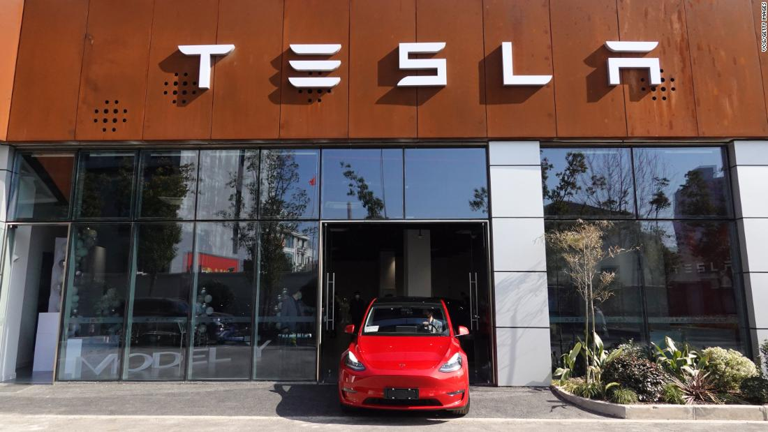 Tesla has started deliveries of the Chinese-made Model Y