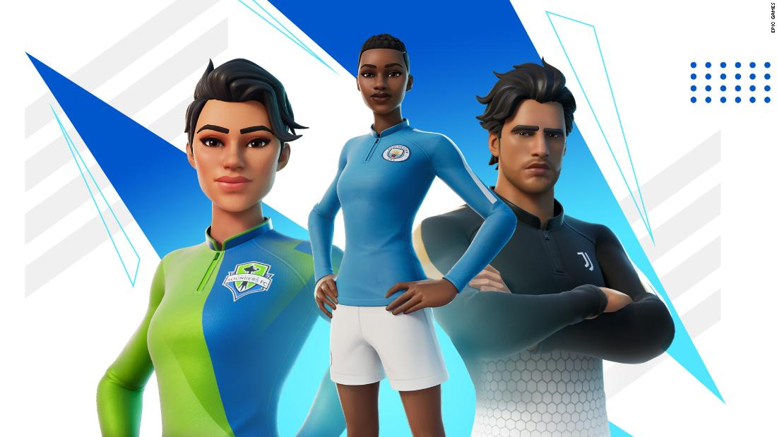 'The sky's the limit on where this can go' -- The worlds of Fortnite and football collide