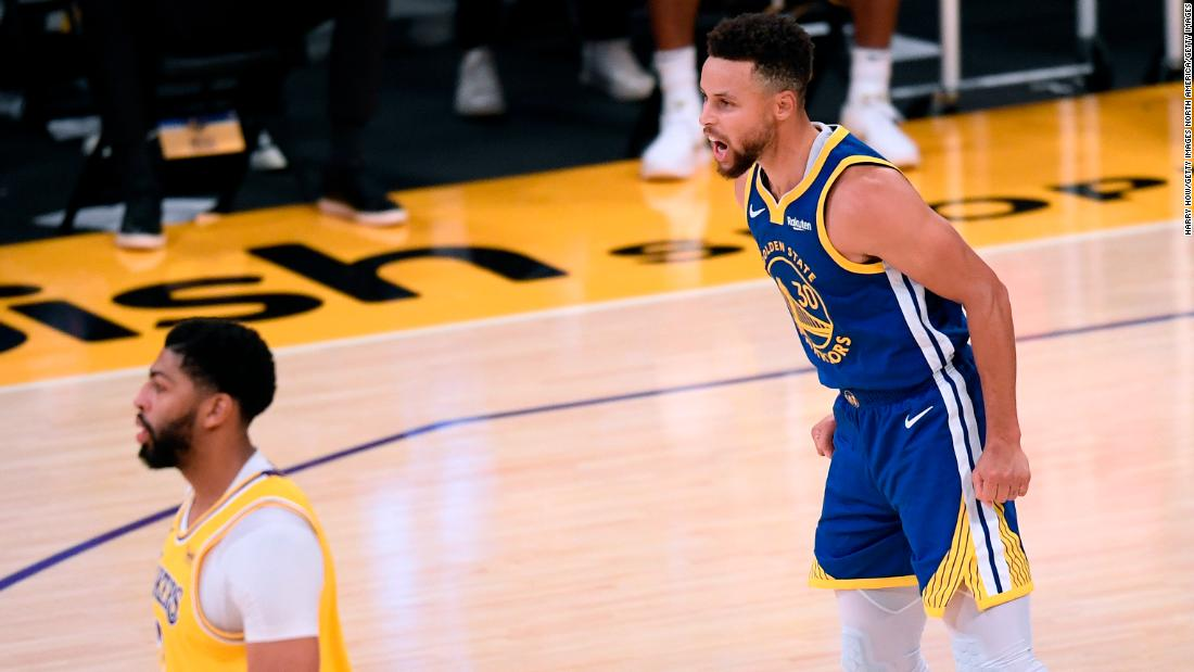 Steph Curry ends Lakers' winning streak with impressive performance for Golden State Warriors – CNN International