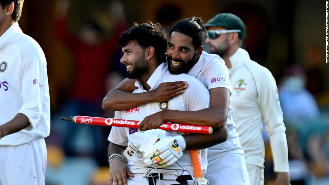 India achieves stunning Test vic