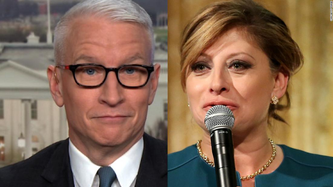 Wow! She actually said that': Cooper reacts to Fox Business host's false riot claim