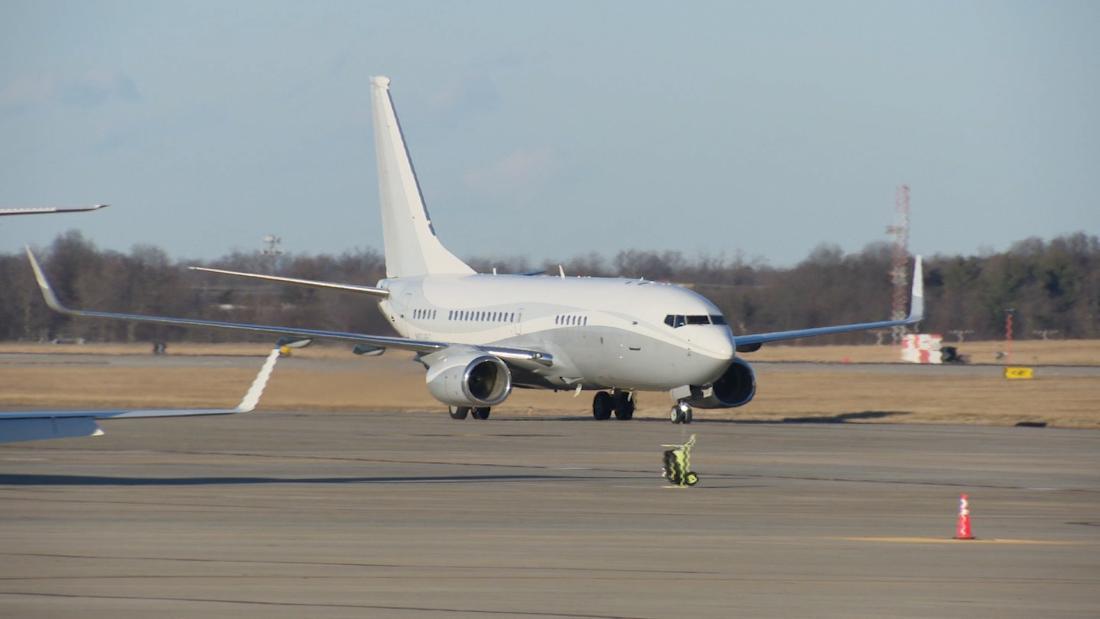CNN explains why Biden's flight to DC is so unusual