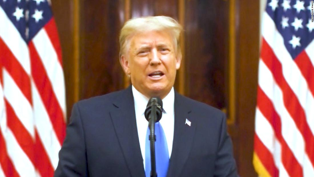 Key moments from Trump farewell video