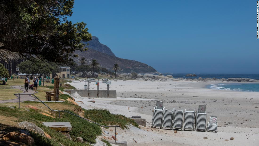No beaches or booze: What South Africa's top tourist spot looks like during Covid