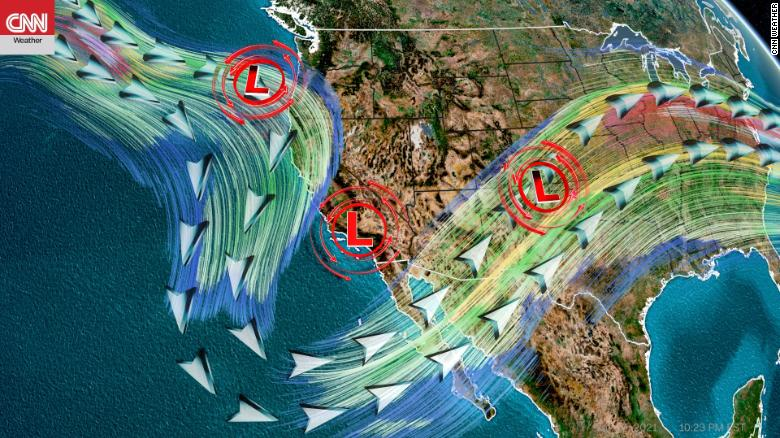 Nearly 2 years' worth of rainfall is possible in parts of Southern California over the next week