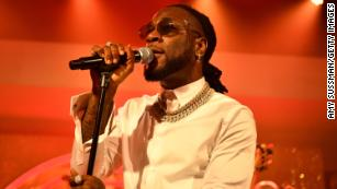 Nigeria's Burna Boy featured on US inauguration playlist