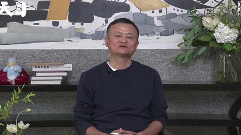 Lihat penampilan publik pertama Jack Ma dalam beberapa bulan