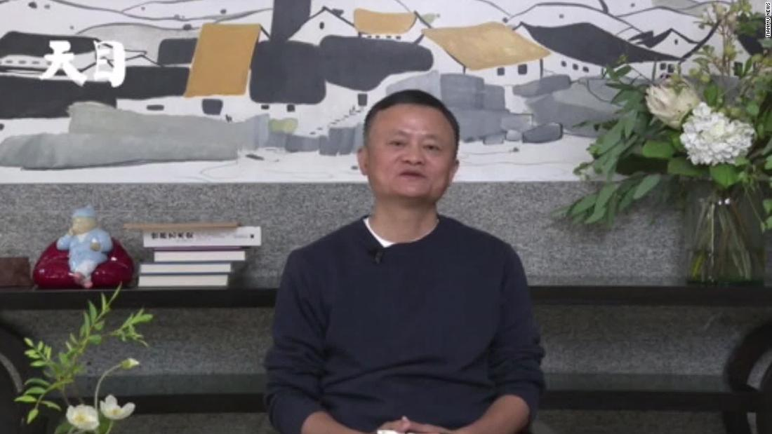 See Jack Ma's first public appearance in months - CNN Video