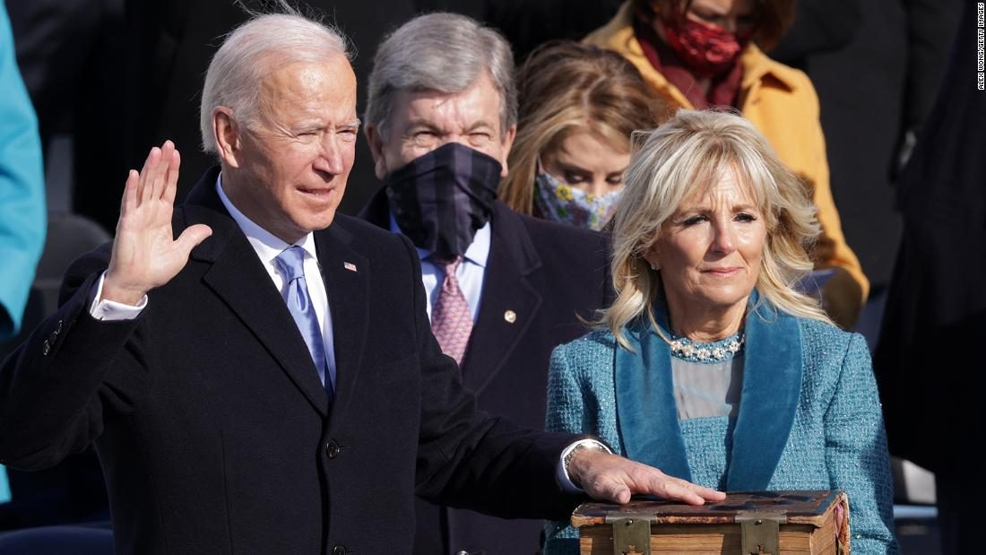 Analysis: The most important line in Joe Biden's inaugural address