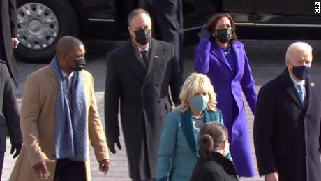 Eugene Goodman escorted Kamala Harris to inauguration ceremony - CNN