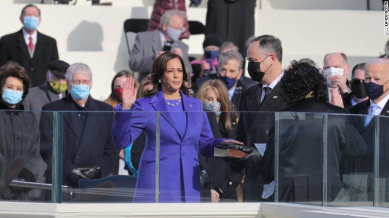 'This moment belongs to all of us:' Black women exult as Kamala Harris walks into history
