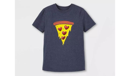 Cat & Jack Pizza Hearts Graphic Tee