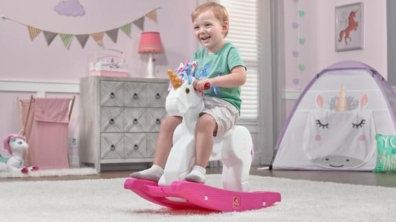 Step2 Unicorn Rocking Horse