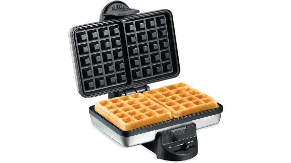 Hamilton Beach 2-Slice Nonstick Belgian Waffle Maker