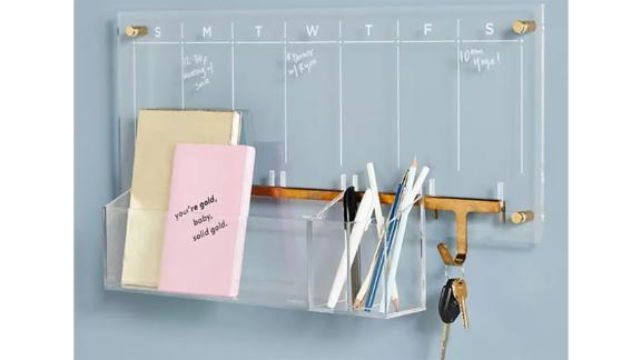Russel + Hazel Acrylic Wall Calendar Desk Set