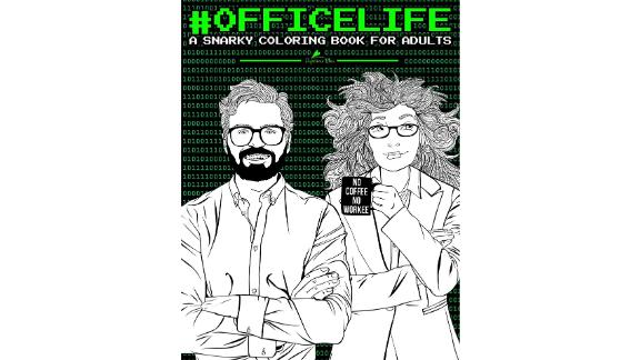 'Office Life: A Snarky Coloring Book for Adults' by Papeterie Bleu