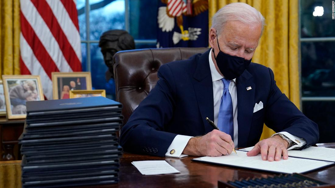 Biden says Trump left him a 'very generous letter' before departing White House -