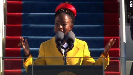 Youth poet laureate recites her stunning poem at Biden inauguration