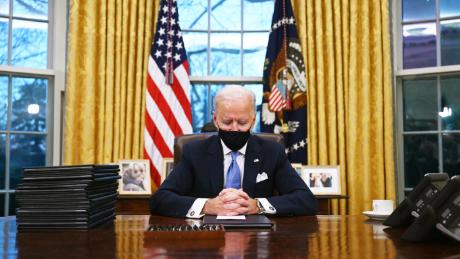 Inside Joe Biden's newly decorated oval office